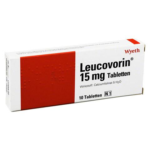 LEUCOVORIN 15 mg Tabletten 10 Stück N1