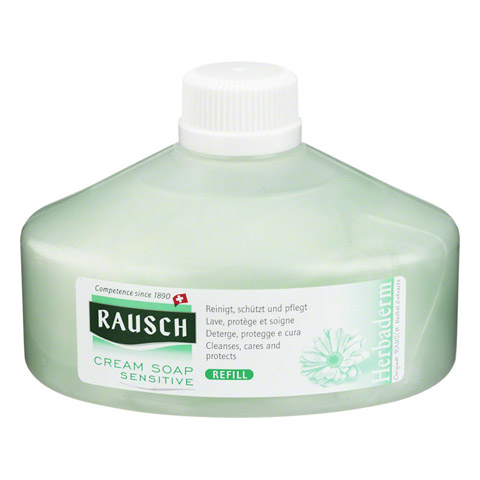 RAUSCH Cream Soap Sensitive Refill 250 Milliliter