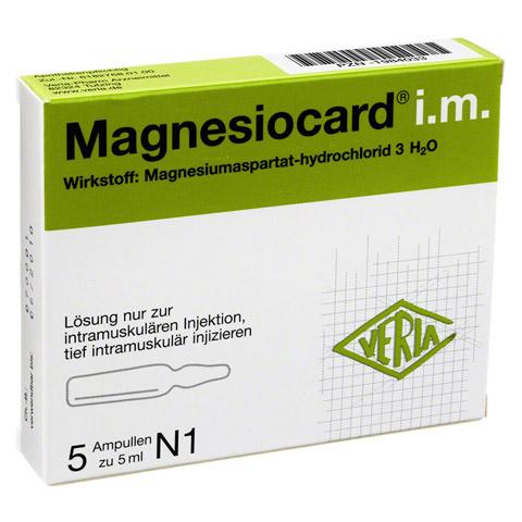 MAGNESIOCARD i.m. Injektionslösung 5x5 Milliliter N1