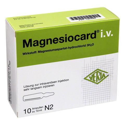 MAGNESIOCARD i.v. Injektionslösung 10x10 Milliliter N2