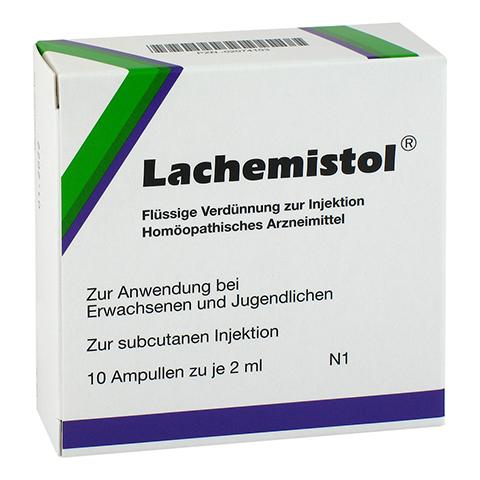 LACHEMISTOL Ampullen 10 Stück N1