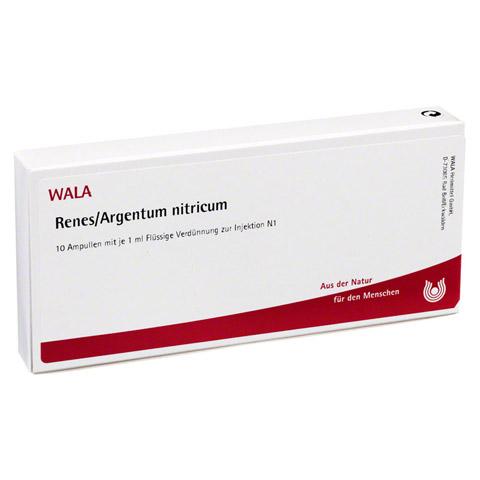 RENES/ ARGENTUM NITRICUM Ampullen 10x1 Milliliter N1