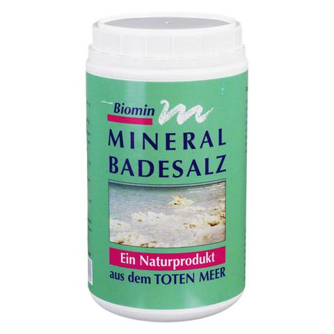 BIOMIN Mineral Badesalz 1250 Gramm