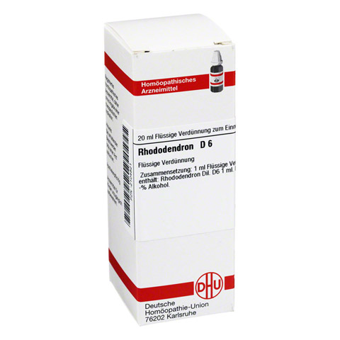RHODODENDRON D 6 Dilution 20 Milliliter N1