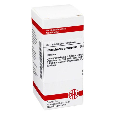 PHOSPHORUS AMORPHUS D 30 Tabletten 80 Stück