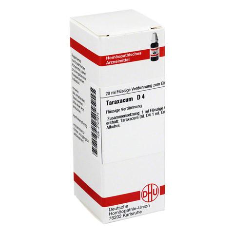 TARAXACUM D 4 Dilution 20 Milliliter N1