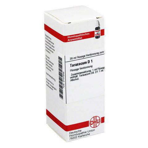 TARAXACUM D 1 Dilution 20 Milliliter N1