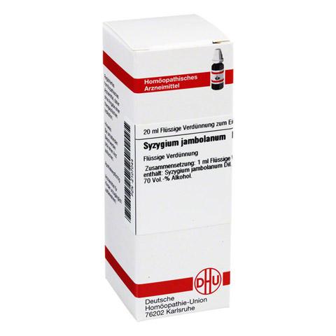 SYZYGIUM JAMBOLANUM D 2 Dilution 20 Milliliter N1
