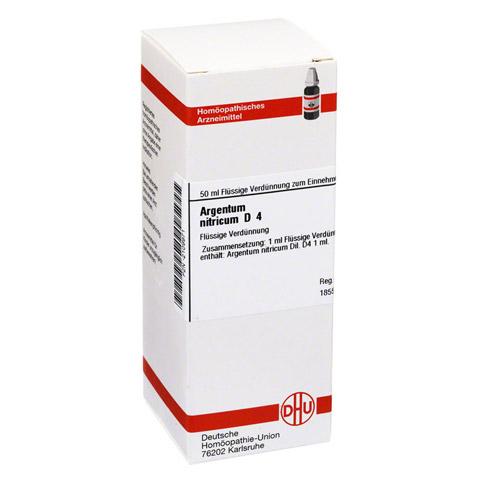 ARGENTUM NITRICUM D 4 Dilution 50 Milliliter N1