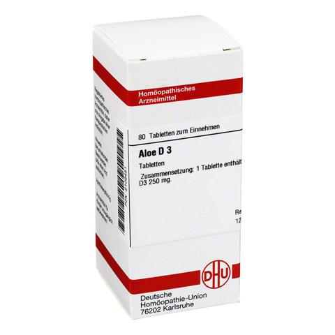 ALOE D 3 Tabletten 80 Stück N1