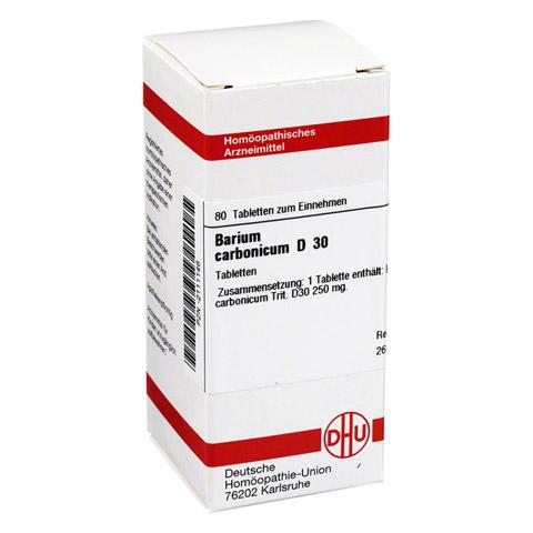 BARIUM CARBONICUM D 30 Tabletten 80 Stück