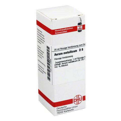 AURUM METALLICUM D 8 Dilution 20 Milliliter N1