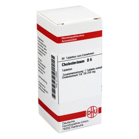 CHOLESTERINUM D 6 Tabletten 80 Stück N1