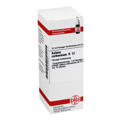 KALIUM CARBONICUM D 12 Dilution 20 Milliliter N1