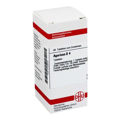AGARICUS D 4 Tabletten 80 Stück N1