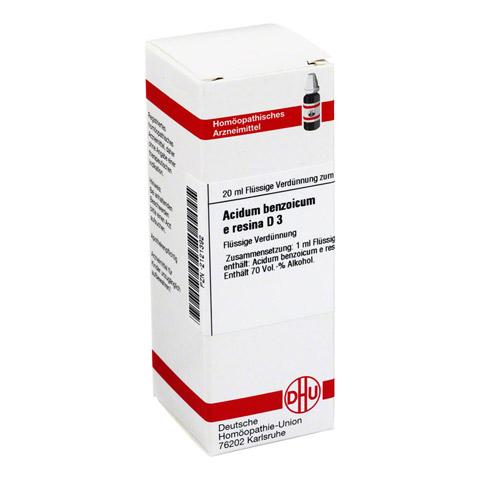 ACIDUM BENZOICUM e Resina D 3 Dilution 20 Milliliter N1