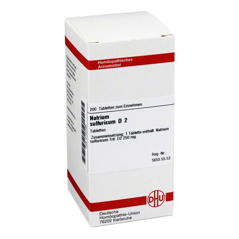 NATRIUM SULFURICUM D 2 Tabletten 200 Stück N2