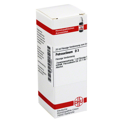 PETROSELINUM D 3 Dilution 20 Milliliter N1