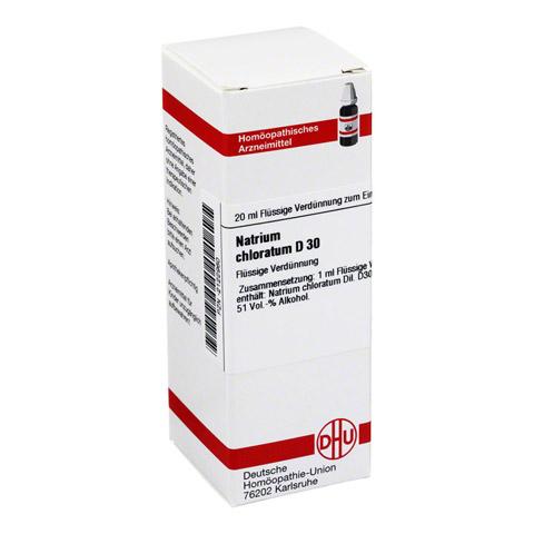 NATRIUM CHLORATUM D 30 Dilution 20 Milliliter N1