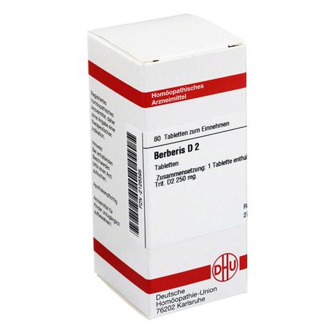 BERBERIS D 2 Tabletten 80 Stück N1