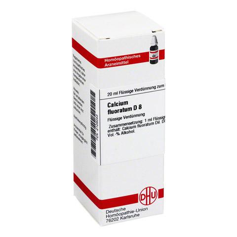 CALCIUM FLUORATUM D 8 Dilution 20 Milliliter N1