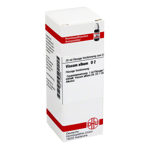 VISCUM ALBUM D 2 Dilution 20 Milliliter N1