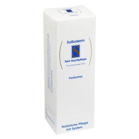 SULFODERM S Teint Nachtpflege parfümfrei 40 Milliliter