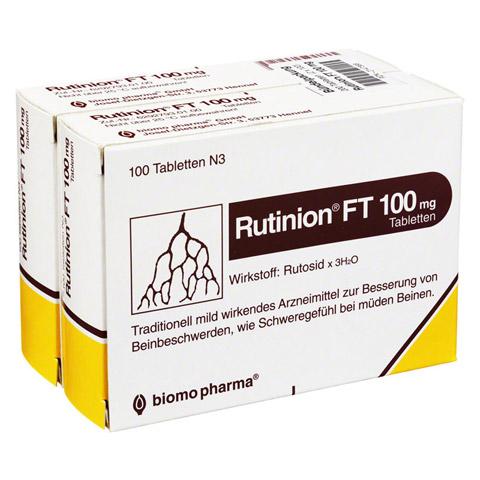 Rutinion FT 100mg 200 Stück
