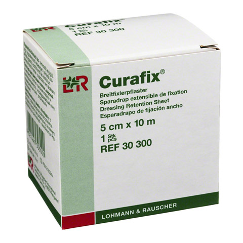 CURAFIX Fixierpflaster 5 cmx10 m 1 Stück