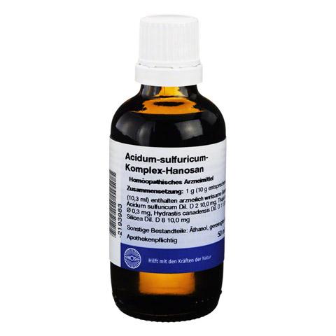 ACIDUM SULFURICUM KOMPLEX flüssig 50 Milliliter N1