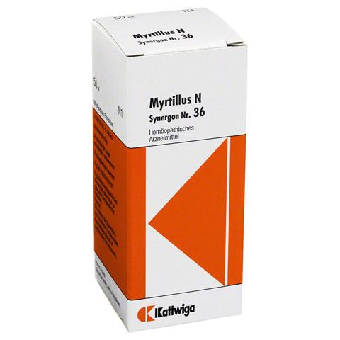 SYNERGON KOMPLEX 36 Myrtillus N Tropfen 50 Milliliter N1