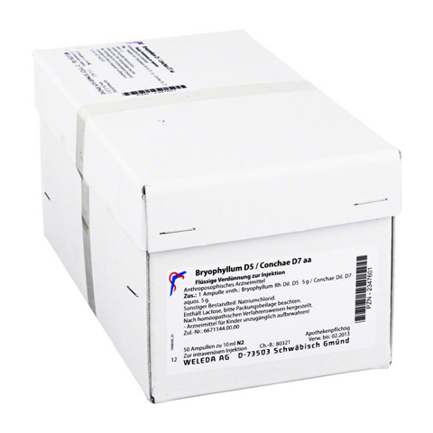 BRYOPHYLLUM D 5/Conchae D 7 Ampullen 50x10 Milliliter N2