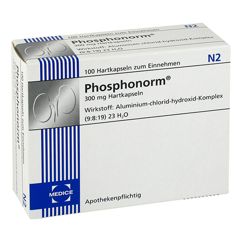 PHOSPHONORM Hartkapseln 1x100 Stück N2