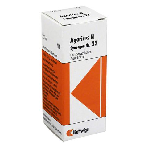 SYNERGON KOMPLEX 32 Agaricus N Tropfen 20 Milliliter