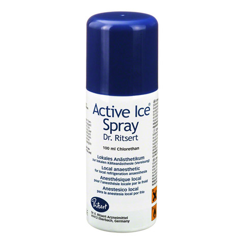 ACTIVE Ice Spray Ritsert 100 Milliliter
