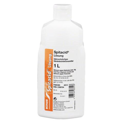 SPITACID Händedesinfektion Spenderflasche 1 Liter