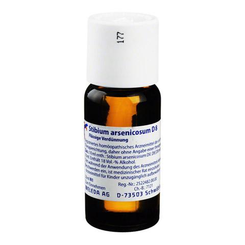 STIBIUM ARSENICOSUM D 8 Dilution 50 Milliliter N1