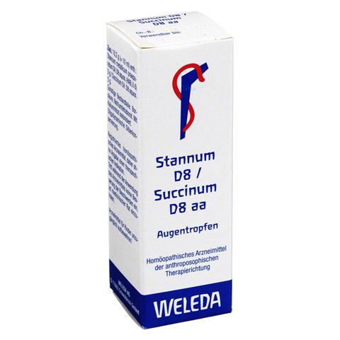 STANNUM D 8 succinum D 8 aa Augentropfen 10 Milliliter N1