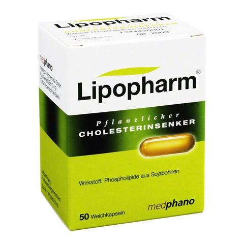 Lipopharm Pflanzlicher Cholesterinsenker Weichkapseln 50 Stück N1