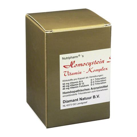 HOMOCYSTEIN Stoffwechsel-Vitamin-Komplex Kapseln 60 Stück N1