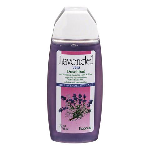 KAPPUS Lavendel Vera Pflanzenölduschbad 50 Milliliter