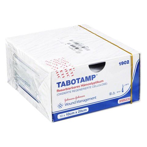 TABOTAMP Hämostyptikum 10x20cm Wundgaze 10 Stück