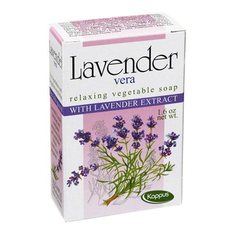 KAPPUS Lavendel Vera Pflanzenölseife 50 Gramm