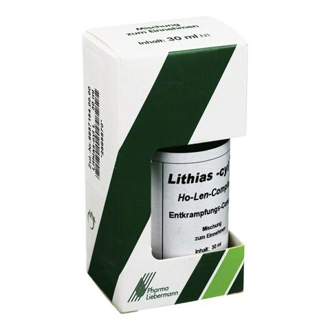 LITHIAS cyl L Ho-Len-Complex Entkrampfungskomplex 30 Milliliter