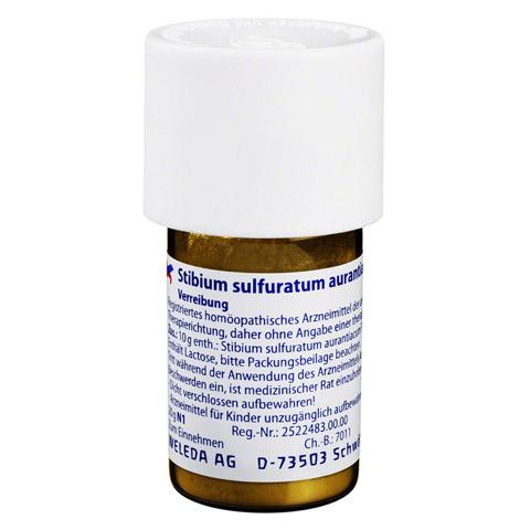 STIBIUM SULFURATUM AURANTIACUM D 6 Trituration 20 Gramm N1