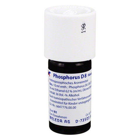 PHOSPHORUS D 8 Dilution 20 Milliliter N1