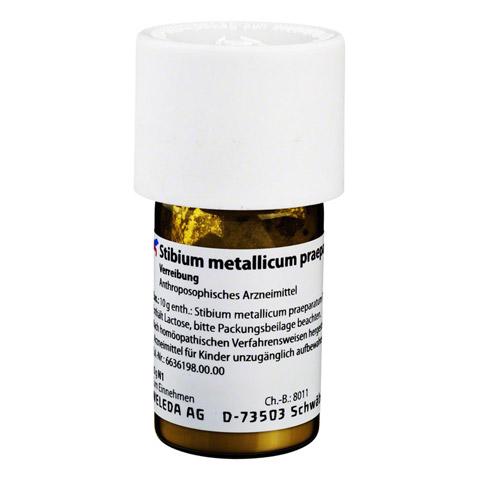 STIBIUM METALLICUM PRAEPARATUM D 20 Trituration 20 Gramm N1