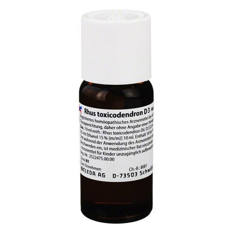 RHUS TOXICODENDRON D 3 Dilution 50 Milliliter N1