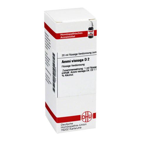 AMMI VISNAGA D 2 Dilution 20 Milliliter N1