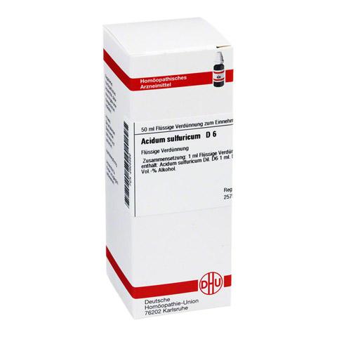 ACIDUM SULFURICUM D 6 Dilution 50 Milliliter N1
